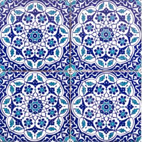 Taner - Keramikfliesen aus der Türkei 20x20cm, Packung mit 12 Stück (0,48 m2)