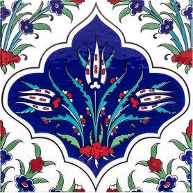 Fusun - Keramikfliesen aus der Türkei 20x20 cm, Packung mit 12 Stück (0,48 m2)