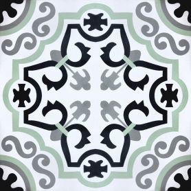 Juanito - Handgefertigte Zementfliesen