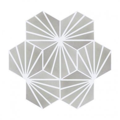 Laik - Hexagonale Zementfliesen