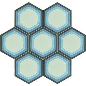 Mirdor - Sechseckige Zementfliesen