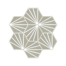 Laik - Hexagonale Zement Bodenfliesen