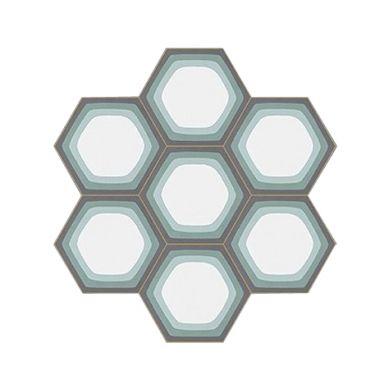Madjer - Hexagonal Zement Bodenfliesen