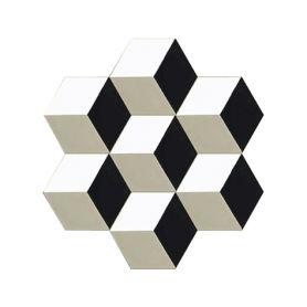 Marcio - Hexagonal Zement Bodenfliesen