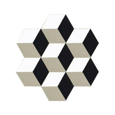 Hexagonal Zement Bodenfliesen Marcio