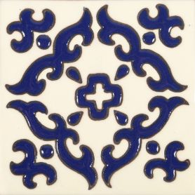 Enrica - Mexikanische Relieffliesen - 30 Stück