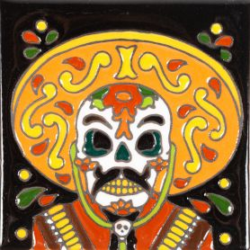 Admirador - Catrina Series - Keramikfliesen mit Relief