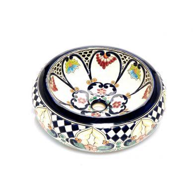 Hermosa - Rundes Keramikbecken aus Mexiko