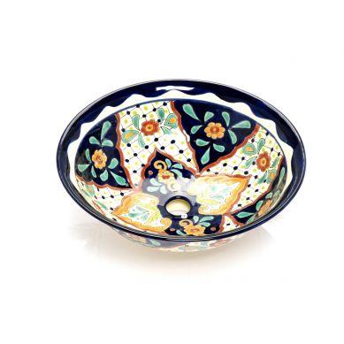 Caliope - Mexikanisches Keramik Waschbecken