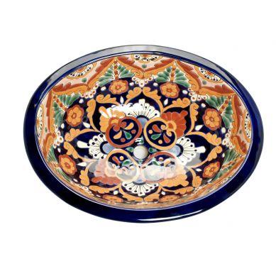 Dina - Mexikanisches Waschbecken aus Keramik
