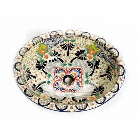 Delicia - Großes Waschbecken aus Keramik