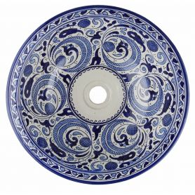 Anmara - Marokkanisches Keramik Waschbecken