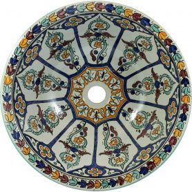 Dilma - Marokkanische Keramik Waschbecken