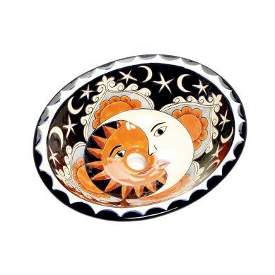 Dafne - Mexikanisches Keramik Waschbecken