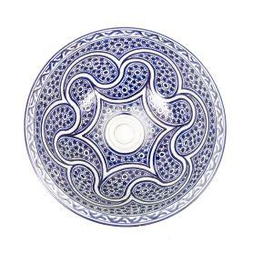Marchena – marokkanisches Keramik Waschbecken