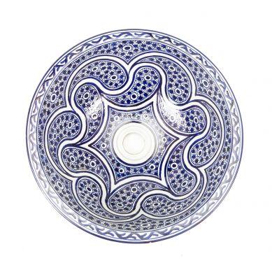 Marchena - marokkanisches Keramik Waschbecken