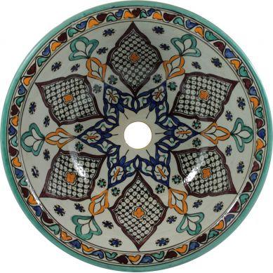 Kama - Marokkanisches Keramik Waschbecken
