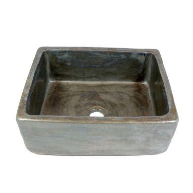 Olga - Handgemachtes Aufsatzwaschbecken