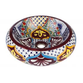 Leonor-Mexikanisches Keramikbecken
