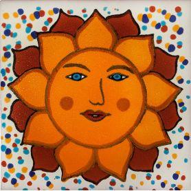 Vincente - Keramikfliesen Sonne 15x15