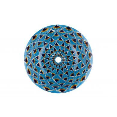 Aqua Azul - rundes eingelassenes Waschbecken