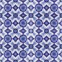 Aida - blau-weiße Keramikfliesen