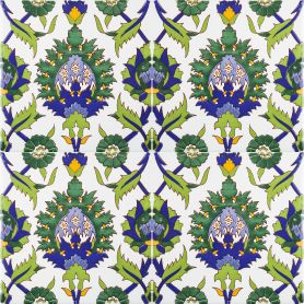 0,48 m2 tunesische Keramikfliesen unter der Treppe 12 orientalische tunesische Dekorfliesen die K/üche 20 x 20 cm f/ür das Badezimmer Cerames- Maram Farbige dekorative Fliesen.