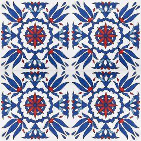 Naila - Keramik-Wandfliesen 20x20cm, einschließlich 12 Fliesen (0,5m2)