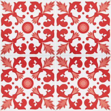 Batul - rote Fliesen aus Tunesien