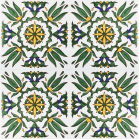 Radija - Keramikfliesen aus Tunesien 20x20cm, einschließlich 12 Fliesen (0,5m2)
