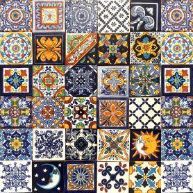 Horacio - Talavera Patchwork aus Mexiko