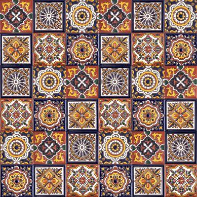 Gael - Talavera Keramikfliesen - 30 Stück