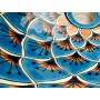 Brisa - Ovales türkises Keramikwaschbecken