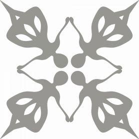 Jagna - Folklore Badezimmer Zementfliesen