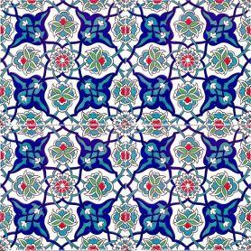 Cem - Keramikfliesen aus der Türkei 20x20cm, Packung mit 12 (0,48 m2)