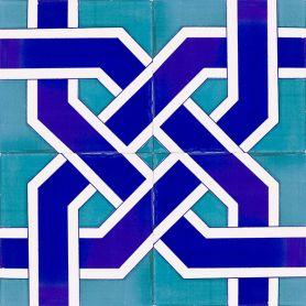 Eren - Keramikfliesen aus der Türkei 20x20 cm, Packung mit 12 Stück (0,48 m2)