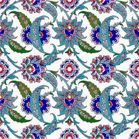 Kelebek - Keramikfliesen aus der Türkei 20x20 cm, Packung mit 12 Stück (0,48 m2)