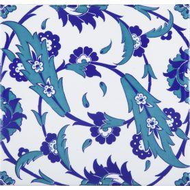 Esin - Keramikfliesen aus der Türkei 20x20 cm, Packung mit 12 Stück (0,48 m2)