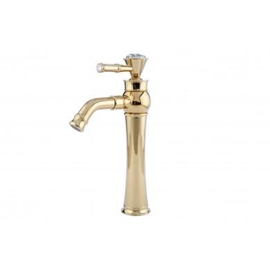 Ivette - Gold Waschbecken Wasserhahn Retro