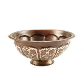 Maricella - Mexikanisches Aufsatzwaschbecken aus Kupfer