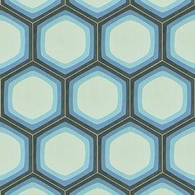 Mirdor - Hexagon Zementfliesen