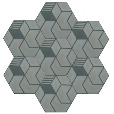 Alfredo - Hexagonale Zementfliesen für Badezimmer