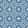 Wezyr - Blaue Zementfliesen
