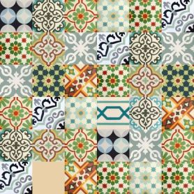 Patchwork - Marokkanische Cement Fliesen
