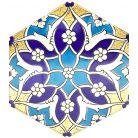 Hexagonale Fliesen