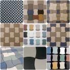 Fußboden-Mosaiken Gorselets